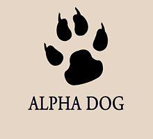 Alpha Dog paw print - black Unisex T-Shirt