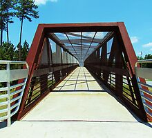 Pedestrian Bridge by Cynthia48