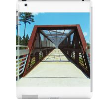 Pedestrian Bridge iPad Case/Skin