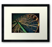 ferris wheel galaxy Framed Print