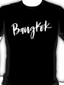 Bangkok Brush Lettering T-Shirt