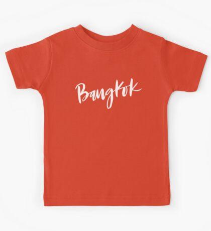Bangkok Brush Lettering Kids Tee
