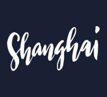 Shanghai Brush Lettering One Piece - Long Sleeve