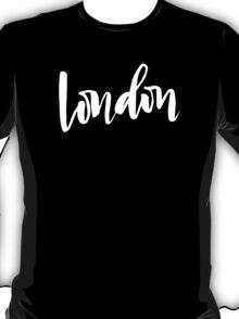 London Brush Lettering T-Shirt