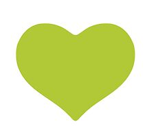 Green Heart Google Hangouts / Android Emoji by emoji