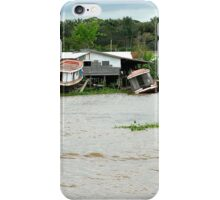 Houseboats in Manaus iPhone Case/Skin