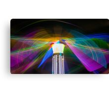 Butterfly Effect Abstract Long Exposure Canvas Print
