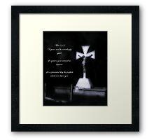 Matthew 5:12 Framed Print
