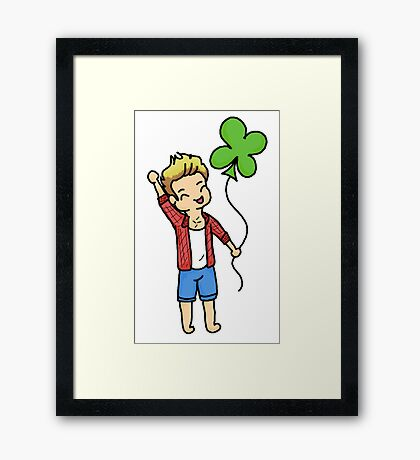 St. Niall's Day Framed Print