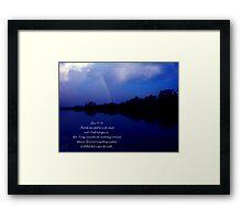 Genesis 9:16 Framed Print