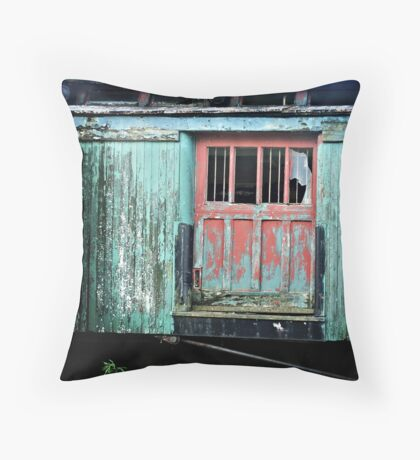 Spruce Caboose Throw Pillow