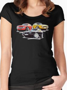 Ford Capri Collection Women's Fitted Scoop T-Shirt