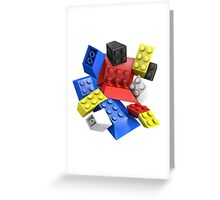 Picasso Toy Bricks Greeting Card