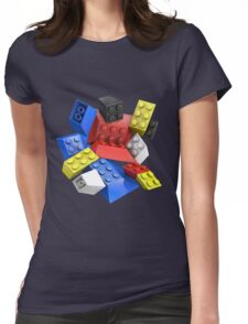 Picasso Toy Bricks Womens Fitted T-Shirt