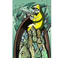 Fish On or Gorton Returns Photographic Print