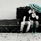 Bench Kiss by Avonlea