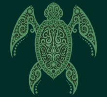 Intricate Green Sea Turtle by Jeff Bartels