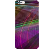 Abstract Colours Long Exposure Phone Art 2 iPhone Case/Skin