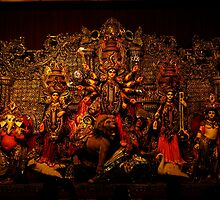 "Devi Durga Family by "" RiSH """