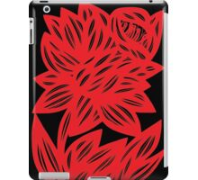 Komlos Daffodil Flowers Red Black iPad Case/Skin