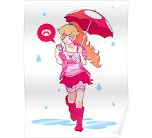 Peach Game GRRL Poster