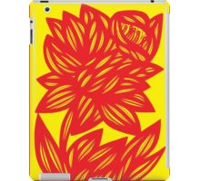 Fingado Daffodil Flowers Yellow Red iPad Case/Skin