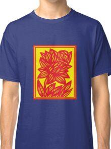 Fingado Daffodil Flowers Yellow Red Classic T-Shirt