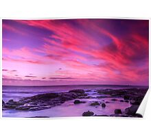 Margaret River Sunset Poster