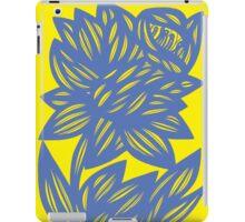 Eskridge Flowers Yellow Blue iPad Case/Skin