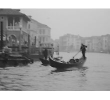 Boats in Venice, Italy  Photographic Print