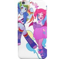 Equestria Dash and Pinkie iPhone Case/Skin