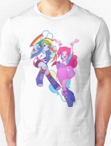 Equestria Dash and Pinkie T-Shirt