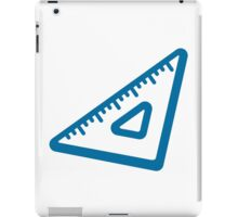Triangular Ruler Google Hangouts / Android Emoji iPad Case/Skin