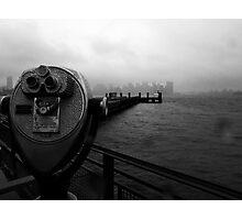 Watching Manhattan Photographic Print