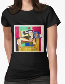 """""""The Photographer""""  Womens Fitted T-Shirt"""