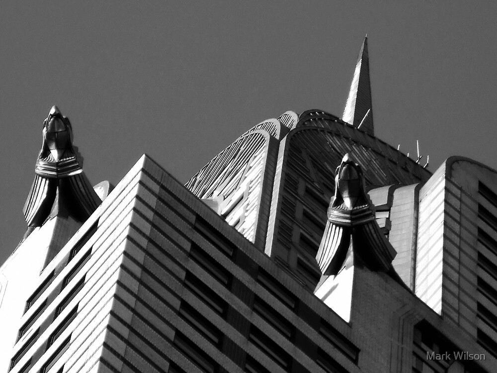 Chrysler Abstract by Mark Wilson