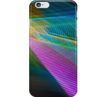 Abstract Colours Long Exposure Phone Art 4 iPhone Case/Skin