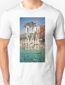 Cabo San Lucas Typography Print T-Shirt