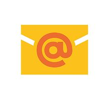 E-Mail Symbol Google Hangouts / Android Emoji by emoji