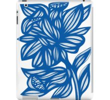Maymon Daffodil Flowers Blue White iPad Case/Skin