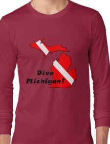 Dive Michigan Long Sleeve T-Shirt