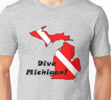 Dive Michigan Unisex T-Shirt