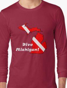 Dive Michigan 2 Long Sleeve T-Shirt