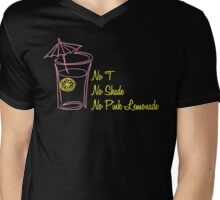 No T, No Shade, No Pink Lemonade Mens V-Neck T-Shirt