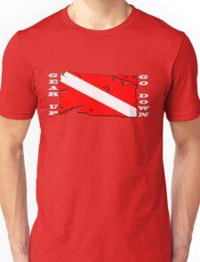 Gear Up Go Down - For Dark Shirts Unisex T-Shirt