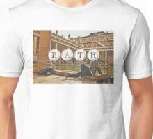 Bath Typography Print Unisex T-Shirt
