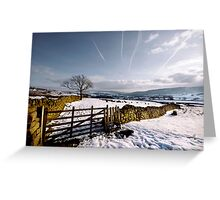 Dales winter Greeting Card