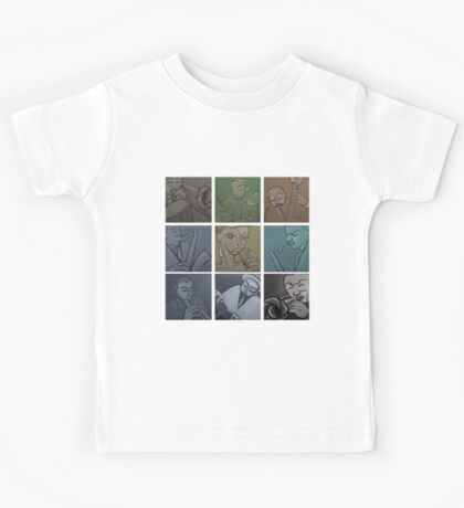 Lullaby of Birdland (Vintage) Tshirt Kids Tee