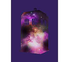 Space Tardis Photographic Print