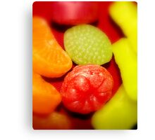 Hard Candy for Christmas Canvas Print